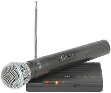 QTX vh45b Vhf Inalámbrico Micrófono Radio Portátil 174.50 Compacto Discoteca Dj Karaoke