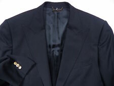 DOLCE & GABBANA D&G MENS 52 42 S BLACK BLAZER JACKET COAT GOLD LUX MADE IN ITALY