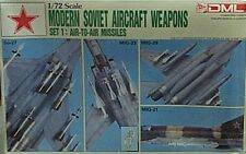 Dragon 1/72 Modern Soviet Aircraft Air to Air Missiles