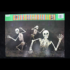 Gothic Dungeon-SKELETONS ESCAPE ATTACK-Window Cling Halloween Horror Decoration