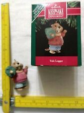 """Hallmark """"Yule Logger"""" (1991). Tender Touches Collection."""