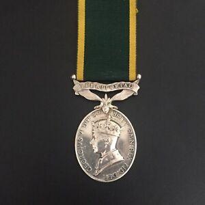 WW2 Efficiency Medal Territorial (FID DEF 1951) - South Wales Borderers/ RASC