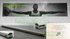 NITF Factory SEALED Nike Poster WINGS Michael Jordan 1989 1st Print w/ LABEL