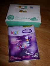 FRED & FLO Toddler Bedding Set & TERRY WATERPROOF MATTRESS PROTECTOR NEW