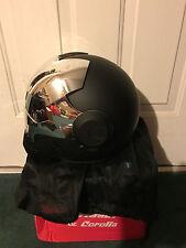 Masei 610 Matt Black&CHROME Atomic-Man Motogp Harley Chopper Motorcycle HELMET