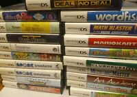 NINTENDO DS GAMES LOT - YOU CHOOSE YOUR OWN - BUNDLE TESTED GAMEBOY DS CIB KIDS