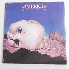 """33 tours AMERICA Disque Vinyle LP 12"""" ALIBI - SURVIVAL - CAPITOL 86.201 Rare"""