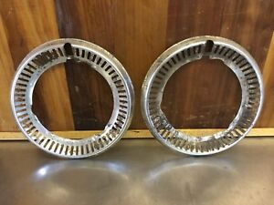 Triumph Spitfire - Early Wheel Trim Rings (2)           T961