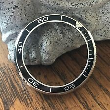 "Coin Edge Bezel + Black ""Planet Ocean"" Insert for Seiko Turtle SRP ~ US Seller"