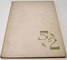 1952 Otter Creek High School Yearbook Terre Haute, In.