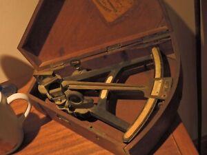 Vintage authenticated1840-50 era Rare Alexander Cairns Sextant