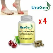 Uragen Total Cleanse Uric Acid Flush Capsules W/ Tart Cherry Extract 240 ct.