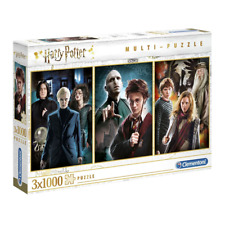 Clementoni Harry Potter 3 x 1000 Piece Jigsaw Puzzle NEW