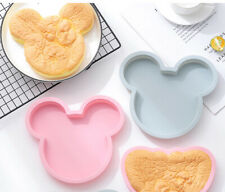 Mickey mouse Cake Mould Silicone Chocolate Jelly Baking Decor Pan Muffin Mold