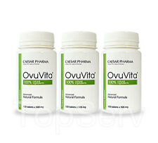 3 OvuVita Keep Your Ovaries Healthy Normalizes Ovulation Female System TOP Pills