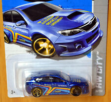 Hot Wheels Subaru WRX STI [ERROR front wheels] - New/Sealed/RARE