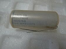 SCC/SB .5 mfd 20% 500VDC @70C oil filled ceramic end plate Capacitor 1 pc