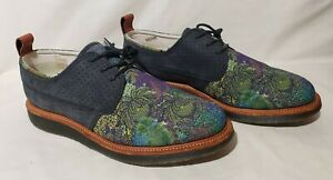 Eldridge Dr Martens Ronnie fieg KITH (Men US 11) Shoes Boots Teal Navy Red N DS