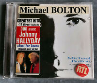 CD Michael Bolton Greatest Hits 1985 - 1995 - 17 Titres dont Duo Johnny Hallyday