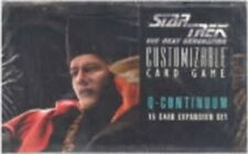 1996 Star Trek Q Continuum  CCG  Rare Cards  You Pick  .99 each