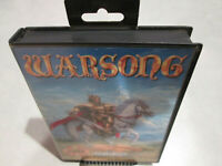 Warsong Sega Genesis w/ Box Almost Complete Nice Shape! Fast Free Shipping!