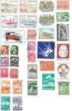32 stamps of Hungary - lot 1 - no duplications