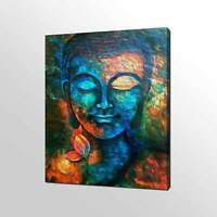 BUDDHA LOTUS CANVAS PRINT PICTURE WALL ART HOME DECOR FREE FAST DELIVERY