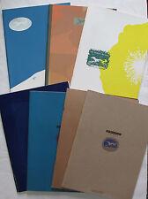 Lot of 7 Knopf Borzoi Reader Incl Vol I #1 Updike O'Keefe J Barnes Fiction 1989+