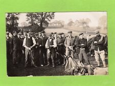 Military Cavalry ? Social History RP pc used 1905 Exmouth postmark Ref E608