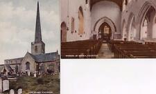 2 Church Kidlington Nr Oxford  unused old pc Ref C1