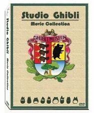 Studio Ghibli Miyazaki Hayao English Movies Box 17 Movie 6 Disc Dvd