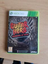 Guitar Hero Warriors Of Rock & World Tour (Disc) Xbox 360 Video Game - PAL