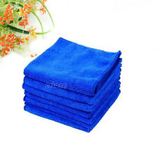 6PCS Car Cleaning Wash Polish Clean Cloth Microfiber Towel 30X30cm Super Soft