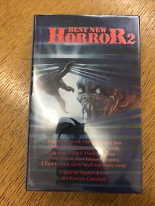 Best New Horror 2 Stephen Jones Hardback 1st