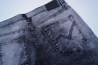 TOM TAILOR Denim Herren Hose skinny Jeans stretch W32 L34 acid wash grau TOP #29