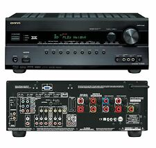 Onkyo TX-SR608 7.2 Home Cinema Theatre 3D AV Network HD Receiver 7x HDMI THX FM