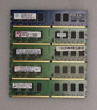 (Lot of 50) 2GB DDR2 2RX8 PC2-*ALL 6400* NON-ECC DIMM Desktop Memory RAM Tested