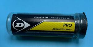 Dunlop Sports Professional XX Official Squash 3 Ball Tube