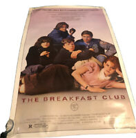 THE BREAKFAST CLUB (Original 1985) MOVIE POSTER One Sheet ROLLED NEVER FOLDED