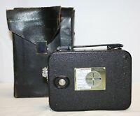 Vintage Kodak Cine Eight Model 25 - 8mm Movie Camera with Leather Case.
