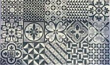 Patchwork effect Wall Floor Tiles,  London Herritage 165x165 mm