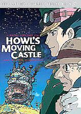 HOWL'S MOVING CASTLE - STUDIO GHIBLI - SINGLE DISC EDITION - REGION 2 DVD.