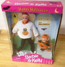 Happy Halloween Barbie and Kelly Gift Set New in Box 1996 Special Edition