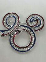 The Art of Disney Swarovski Crystal Mickey Mouse Brooch Pin
