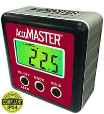 Calculated Industries AccuMASTER 2-in-1 Digital Angle Gauge Model 7434