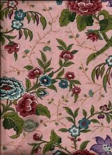 """""""Memory Gardens"""" Floral Print multi color on pink by Free Spirit -1yd +31"""""""