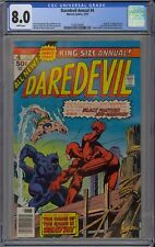Daredevil King-Size Annual #4 CGC 8.0 VF Wp 1976 Black Panther & Sub-Mariner App