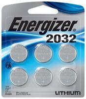 Energizer 2032-6pk Lithium Battery