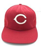 Cincinnati Reds Vintage Snapback Mesh Baseball Trucker Hat