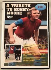A TRIBUTE TO BOBBY MOORE RARE DVD WEST HAM LEGEND inc MEMORIAL GAME FOOTAGE